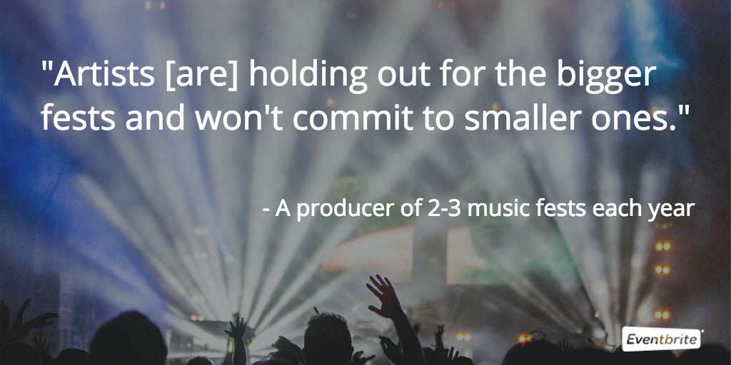 corporatization hurts artists in the music festival industry