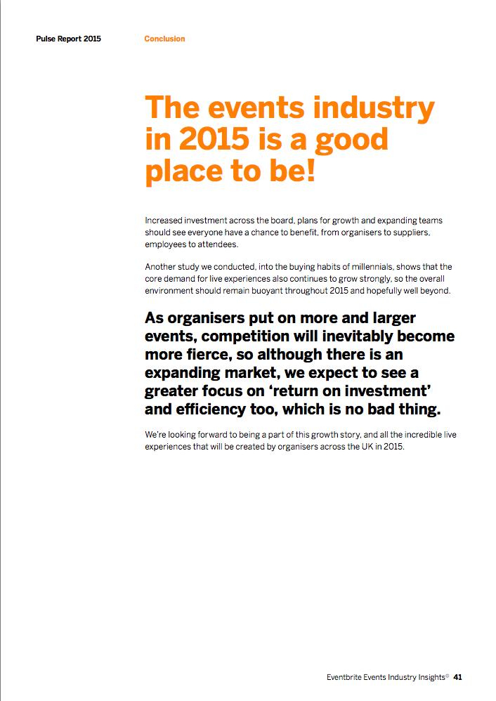 Event Industry Statistics - Pulse Report